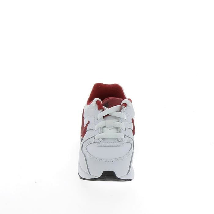 NIKE Air Max Command Flex BB Blanc Rouge 8443541-161