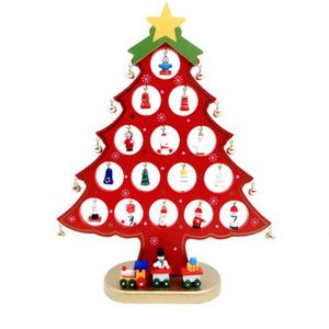 SAPIN - ARBRE DE NOËL Nouveau Sapin de Noël en bois de bureau en bois Pe