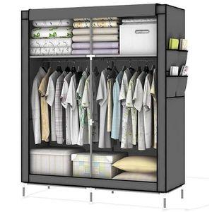 ARMOIRE DE CHAMBRE système d'armoire pliable refermable DIY avec pend
