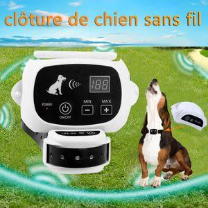 ANTI-FUGUE - CLOTURE Clôture sans fil portative de chien , émetteur à t