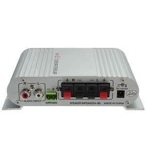 AUTORADIO Lepy LP-838 20Wx2 Stéréo Hi-Fi Amplificateur Ampli