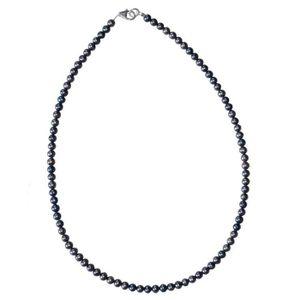 SAUTOIR ET COLLIER ERCE perles de culture d'eau douce collier 5 mm pi