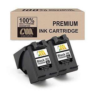 CARTOUCHE IMPRIMANTE CMCMCM 2PK 302XL Cartouches d'encre remanufacturée