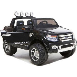 VOITURE ELECTRIQUE ENFANT Ford Ranger Noir avec peinture Métallisée, voiture