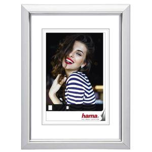 CADRE PHOTO Hama Saragossa, Plastique, Blanc, Cadre pour une s