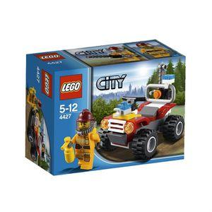 ASSEMBLAGE CONSTRUCTION Lego City Fire - Le 4x4 Des Pompiers En Forêt