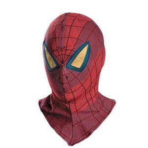 MASQUE - DÉCOR VISAGE Spiderman Masque En Tissu Halloween Accessoires Vê