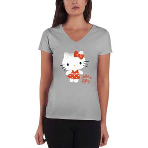 T-SHIRT Hello Kitty T Shirt Polka Dots logo nouveau offici