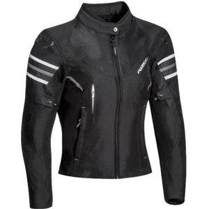 BLOUSON - VESTE IXON Blouson moto Ilana - Noir et Blanc