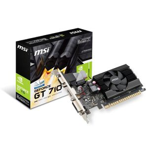 CARTE GRAPHIQUE EXTERNE MSI Carte graphique Geforce GT710 GDDR3 - 2Go