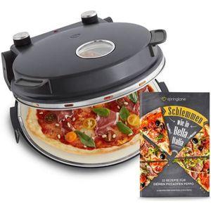 FOUR À PIZZA Four à Pizza électrique, 1200W, pour des pizzas co