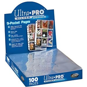 CARTE A COLLECTIONNER Ultra Pro - 100 pages de classeur - 9 cartes Si…