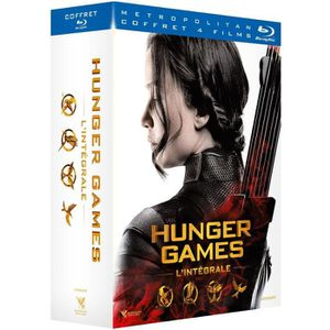 BLU-RAY FILM Coffret Hunger Games - 4 films - En Blu-ray