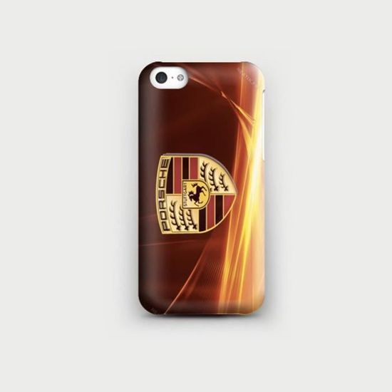coque iphone 5c logo porsche