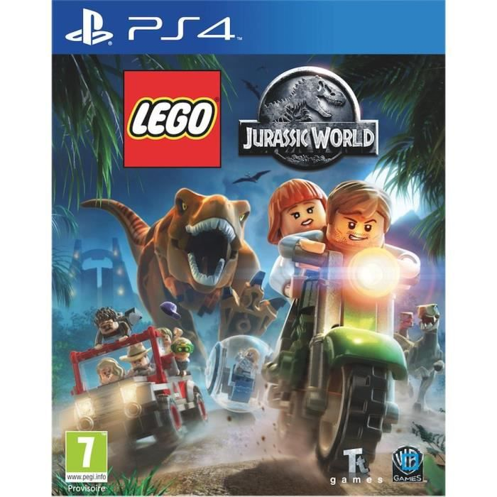 Lego Jurassic World PS4 - Jeu PS4