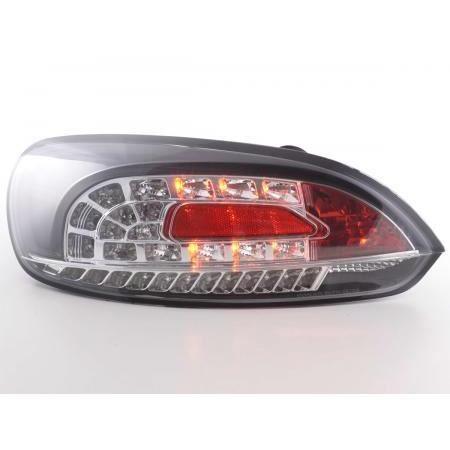 Paire de feux arriere VW Scirocco de 2008 a 2014 LED Noir D-FKRLXLVW010055