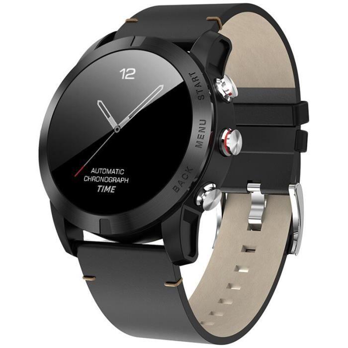 S10 montre intelligente hommes IP68 étanche Sport Smartwatch moniteur de fréquence cardiaque Fitness Tracker horlog - Black - WL8378