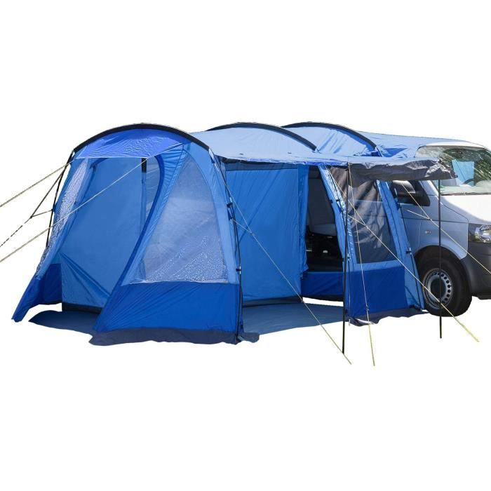 Skandika Aarhus Travel Auvent autoportant pour Van Minibus tente bleu 2 personnes,310