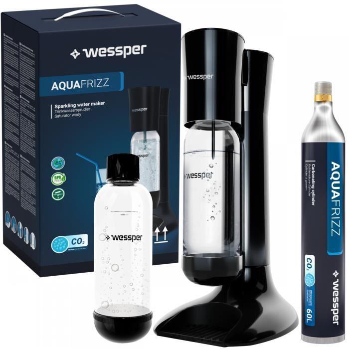 Wessper SODASTREAM Spirit Pack Machine + 2 bouteille Pet