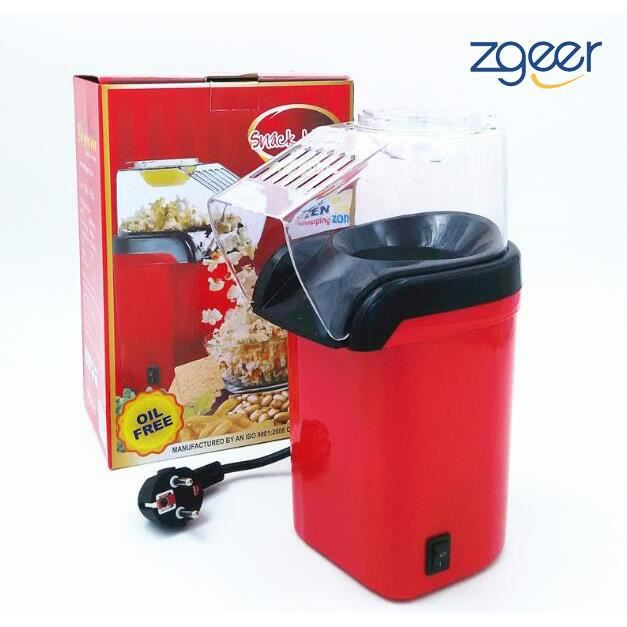 Machine à Pop Corn, Popcorn Popper automatique de grande capacité, Petite extrudeuse,Air chaud électrique