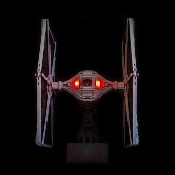 Kit d'éclairage LED Seulement Pour LEGO 75095 Star Wars UCS TIE Fighter Building Wir6