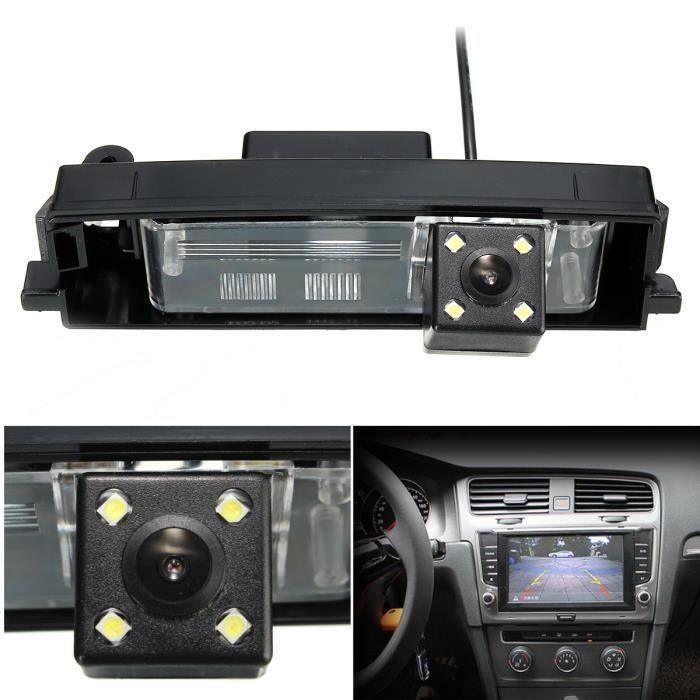Kit Caméra Recul Vue Arriere CCD HD Vision Nocturne Pour 2000-2012 TOYOTA RAV4 Wir15