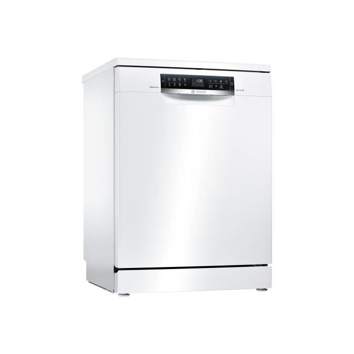 Bosch Serie 6 Silence Plus SMS68IW07E Lave-vaisselle pose libre largeur : 60 cm hauteur : 84.5 cm blanc