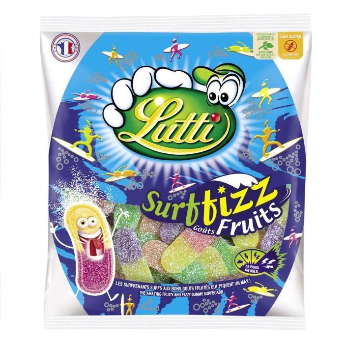 LUTTI Bonbons Surffizz aux Fruits - 100 g