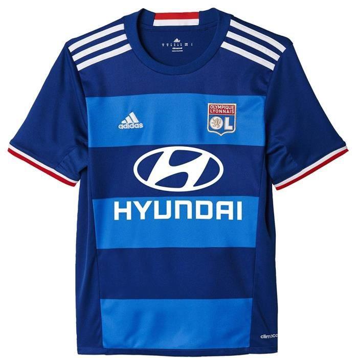 Maillot de foot enfant Lyon OL A jersey bleu AI8153