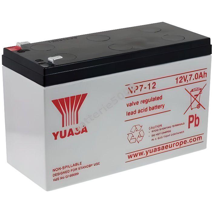 YUASA replacement Batterie pour panneau solaire...