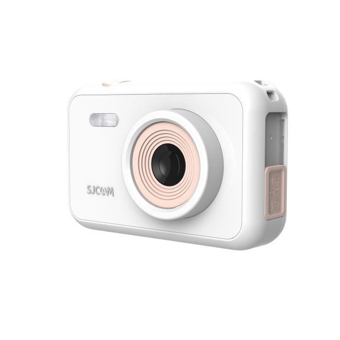 Caméra D'action 1080P Pixel 12MP, SJCAM Camera Enfants Camescope, Appareil Photo Enfant Enregistrement Video - Blanc