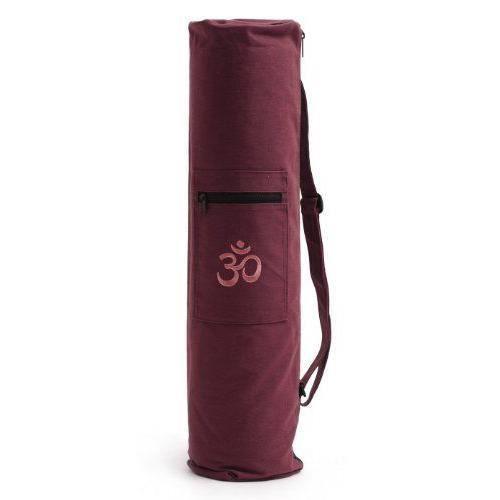 Yogistar Sac pour tapis de yoga Om Bordeaux - 108842