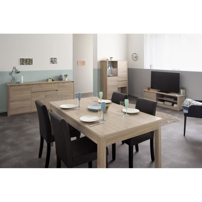 oslo s jour complet achat vente ensemble meubles de salon cdiscount. Black Bedroom Furniture Sets. Home Design Ideas