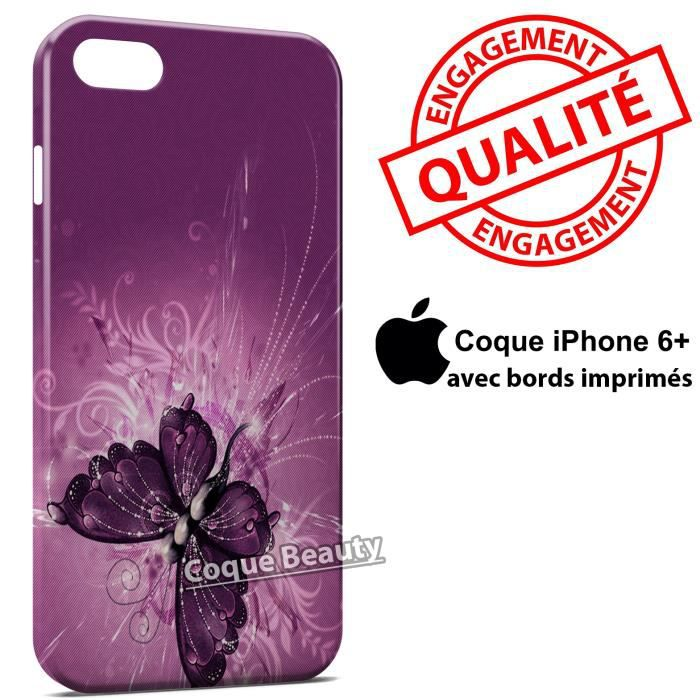 coque iphone 6 plus papillon