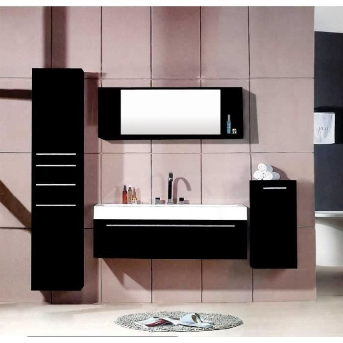 hello wenge ensemble salle de bain 3 meubles 1 vasque 1 miroir achat vente salle de. Black Bedroom Furniture Sets. Home Design Ideas