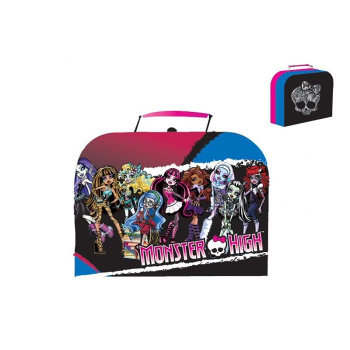 valise bagage valise monster high coloree