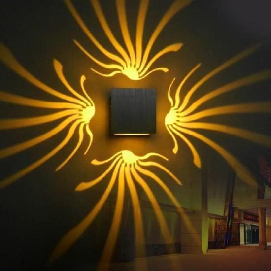 APPLIQUE  3W LED Lumière Murale Moderne Applique Murale De D