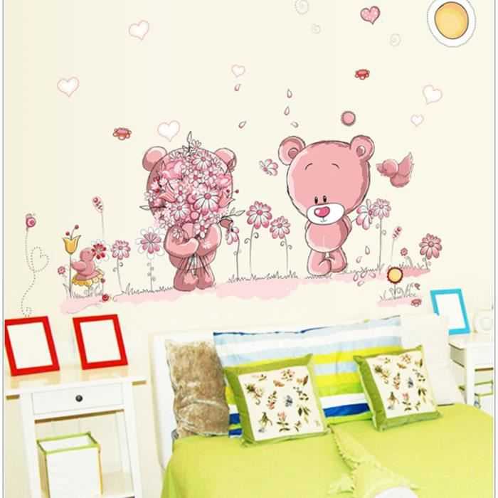 stickers fille bebe achat vente stickers fille bebe pas cher cdiscount. Black Bedroom Furniture Sets. Home Design Ideas