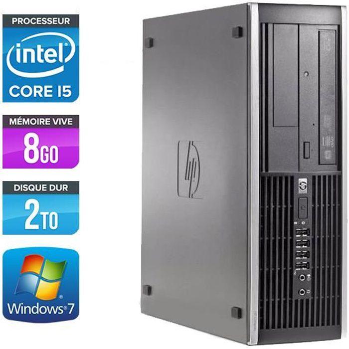 ORDI BUREAU RECONDITIONNÉ PC HP Elite 8200 - Core i5 - 3.10GHz - 8Go - 2To
