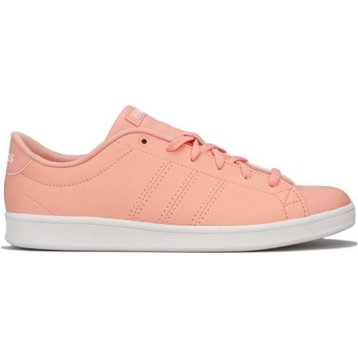 adidas Baskets Advantage Clean QT Rose Femme
