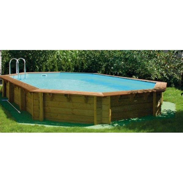 Piscine odyss a 540 x 330 x 133 liner sable achat for Piscine liner sable