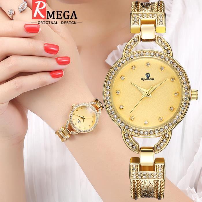 MONTRE RMEGA  Montre Femme - Marque de Luxe - Diamant - 3