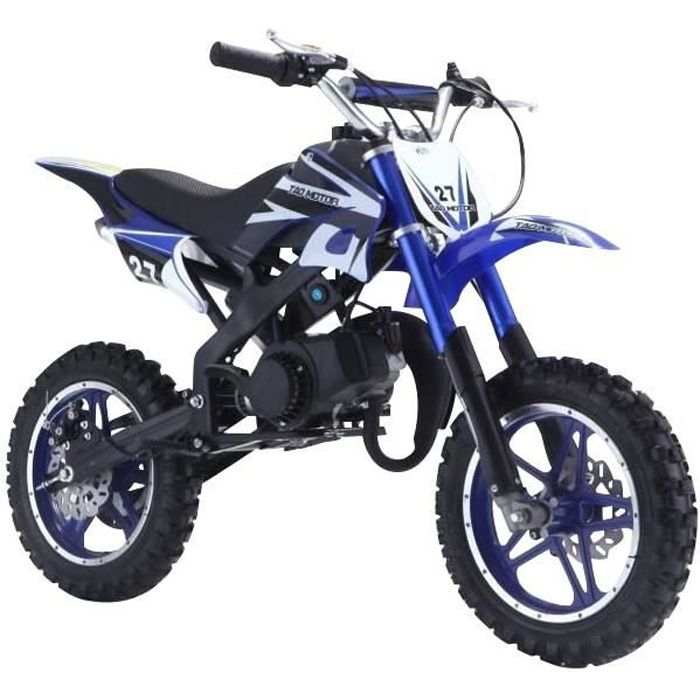DIRT BIKE Mini Moto 50 Cc 2 Temps Enfant