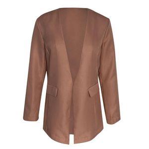 Hawiton Manteau Femme Chaud V/êtements Femme avec des Manches Longues Veste en Laine de Mode Classique /él/égant Automne Hiver