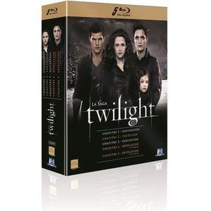 BLU-RAY FILM Blu-ray Coffret Twilight, La saga - L'intégrale