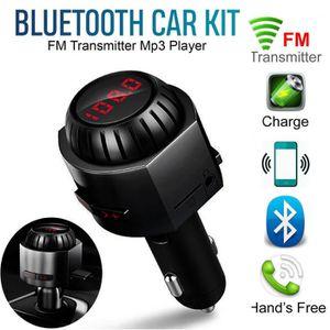 TRANSMETTEUR FM MK5 Transmetteur FM Lecteur MP3 de voiture mains l