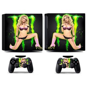 STICKER - SKIN CONSOLE Sticker-decal Autocollant Ps4 -  PRO Sexy Femmes M