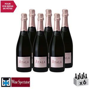 CHAMPAGNE Champagne Rosé Majeur Rosé - Lot de 6x75cl - Maiso
