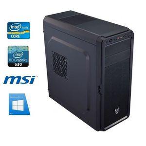 UNITÉ CENTRALE  PC Bureau I7-8700 - 16GO RAM - SSD 480GO - WIFI -