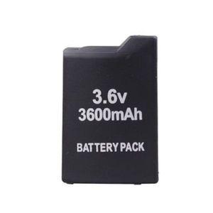 BATTERIE DE CONSOLE Batterie rechargeable 3600mAh pour PSP 1000